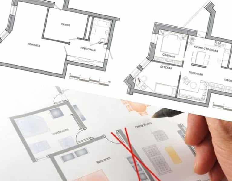 Оформление перепланировки квартиры в Санкт-Петербурге